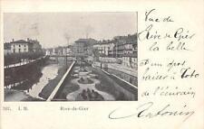 CPA 42 RIVE DE GIER (dos non divisé)