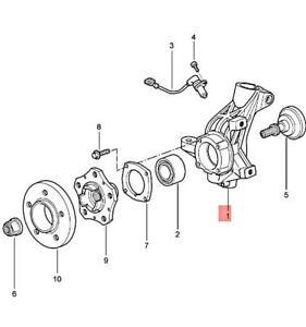 Genuine PORSCHE 911 Boxster Carrera Cayman Wheel Carrier Right 99734115805