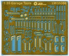 Alliance LW35086 1/35 Scale Mechanic Tools Connectionless PE