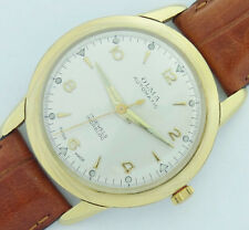 21 Jewels Swiss made Olma Incabloc automatic Men's vintage Watch gold 20 microns