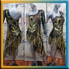 LATIN RHYTHM SALSA BALLROOM COMPETITION DANCE DRESS (LS209B)