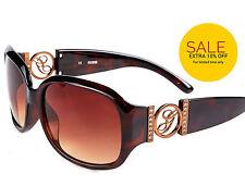 Women's Gradient 100% UVA & UVB Square Plastic Sunglasses