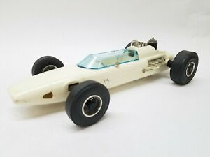 """13"""" Vintage TESTORS Sprite Gas Powered Racing Indy Tether Car"""