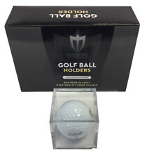 (8) Golf Ball Display Case Stackable Square Cube Holder Stand by Max Pro