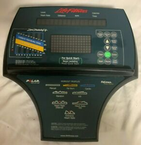Life Fitness 9100ct Console for Ellipticals!