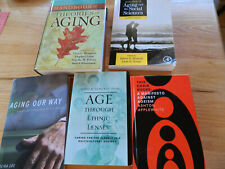 Ageing Ageism Social Science Theories Elderly Caring Gerontology. Lot of 5 Books