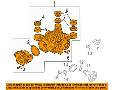 AUDI OEM 12-13 TT Quattro Rear Axle-Carrier 0BY525010B