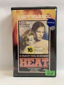ANDY WARHOL'S HEAT Palace NZ VHS Video cult underground explosive arthouse art