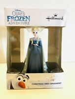 Disney Hallmark Queen Elsa Christmas Ornament NIP