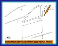 Genuine OEM 14-17 MERCEDES S550 S63 Left Front Door Applique Window Trim Molding