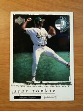 "MIGUEL TEJADA 1998 UPPER DECK ""PREVIEW EDITION"" ROOKIE BASEBALL CARD-#8-A'S"