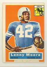 1956 TOPPS LENNY MOORE ROOKIE CARD #60 VG-EX NO CREASES (547)