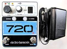 Used Electro-Harmonix EHX 720 Stereo Recording Looper Guitar Effects Pedal