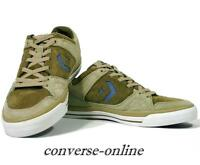 Men CONVERSE All Star COOLIDGE OX Green Blue Suede SKATE Trainers Shoe SIZE UK 8