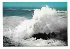Sea Fury, waves on rocks by Bill Holden postcard