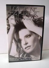 CASSETTE K7 VHS AUDIO VIDEO COLLECTOR MYLENE FARMER MUSIC VIDEO 2 + MAKING OF