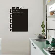 TO DO LIST Blackboard Removable Kitchen Wall Chalkboard Decal Paper Sticker