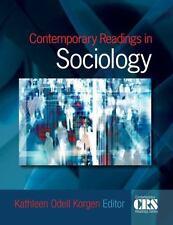 The Contemporary Readings: Contemporary Readings in Sociology (2008, Paperback)