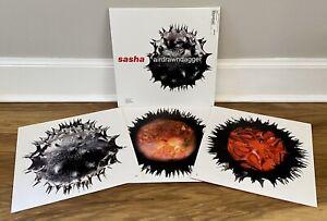 "Sasha - Airdrawndagger 3 x 12"" Vinyl LP (2002 BMG, Arista 74321 952921) NM"