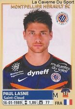 300 PAUL LASNE # MONTPELLIER.HSC STICKER PANINI FOOT 2015