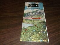 JUNE 1963 SLSF FRISCO CONDENSED SYSTEM PUBLIC TIMETABLE
