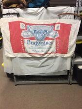 Vintage Budweiser Beer Label Beach Towel