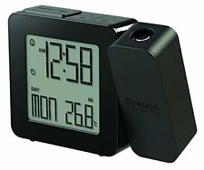 Oregon Scientific Rm-338-p - reloj proyector con temperatura Interior(negro)