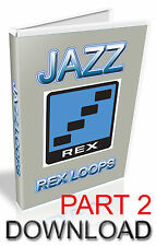 JAZZ REX LOOPS, PART 2  - REASON REFILL - CUBASE - PRO TOOLS - LOGIC - ABLETON