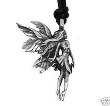 Silver PEWTER Faeire FAIRY Pagan NYMPH Pixie PENDANT