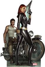 MARVEL - Wolverine & Black Widow Life Size Cardboard Cutout C1133
