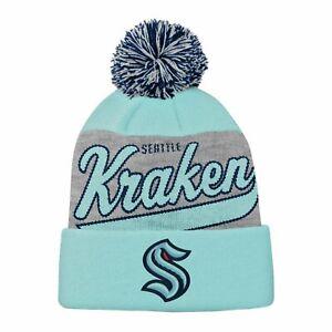 Kids NHL Winter Hat - TAILSWEEP Seattle Kraken - Youth