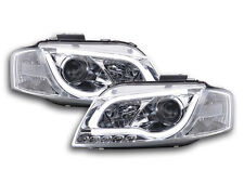Scheinwerfer Daylight LED Lightbar TFL-Optik Audi A3 8P/8PA Bj. 03-08 chrom Sche