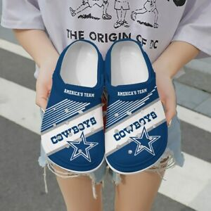 Personalized Dallas Cowboys Crocs Crocband Clog