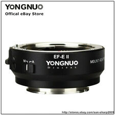 Yongnuo EF-E II Smart Lens Adapter for Canon EF/EF-S Lens to Sony E-Mount