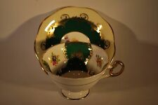 ART DECO FOLEY FLORAL CUP AND SAUCER    #6000