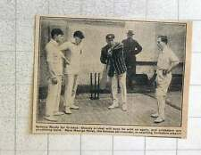1923 George Hirst Coaching Yorkshire Cricket Players