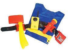 Fireman Sam Utility Ceinture Toy Set Talkie Walkie Torche pompiers Hache JOUET Neuf Emballé