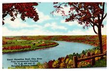 Indiana Scenic Horseshoe Bend Ohio River Leavenworth Overlook Southern IN  WD2