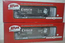 2 Atlas Crisco 40' Wood Reefer Ho Scale