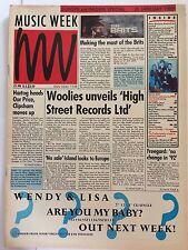 MUSIC WEEK MAGAZINE  28 JANUARY 1989  THE AMAZING WORLD OF DEMON RECORDS  LS