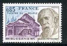 STAMP / TIMBRE FRANCE OBLITERE N° 1846 THEATRE DU PEUPLE DE BUSSANG / POTTECHER