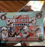 2020 Panini Contenders Football NFL Blaster Box Brand New Factory Sealed