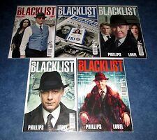 THE BLACK LIST #1a #1b variant 2 3 4 1st print set (5) NBC TV TITAN COMICS NEW