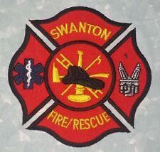 "Swanton Fire / Rescue Patch - Ohio - 3 5/8"" x 3 3/4"""