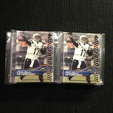 (10) SETS ! 2014 TOPPS SAN DIEGO CHARGERS TEAM SET = 120 CARDS  PHILIP RIVERS +