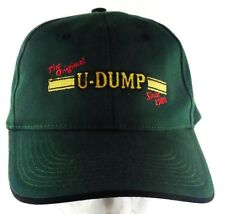 The Original U-DUMP Since 1980 Strapback Adjustable Green Hat Cap Ocala FL