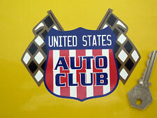 """United States Auto Club Classic Car STICKER 4"""" Chevrolet Buick Chrysler Shelby"""
