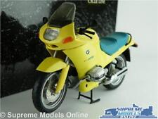 BMW R 1100RS MOTORBIKE MODEL 1:24 SIZE MINICHAMPS CYC RS1104 YELLOW CYCLE LINE T