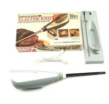Vintage Hamilton Beach 293 W Electric Knife. In Box.Complete w/ Manuals