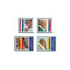 "Vatican 2004 - Mi. n. 1484/1487 - ""Viaggi del Papa"" Jean Paul II"